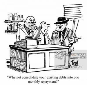 student loan collectors, education mafia, loan sharks