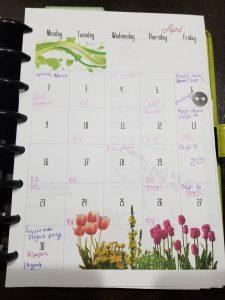 calendar, planning, time management