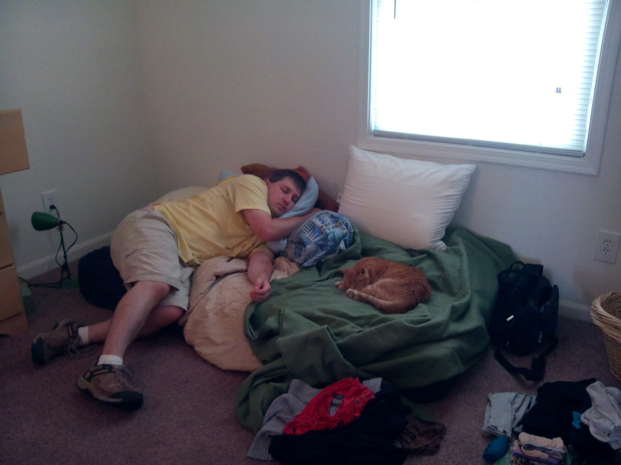 The move took us nearly a month to complete, and everyone was tired.